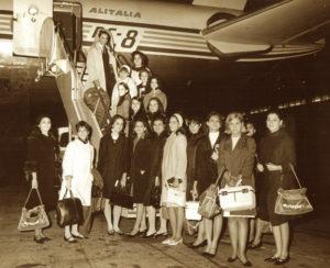 1er Grupo de Qinceañeras - 1967